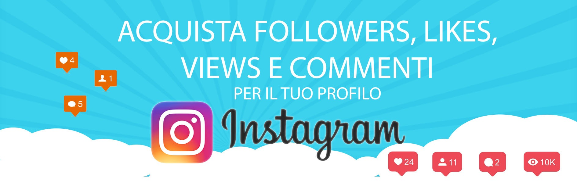 Comprare Follower Instagram Reali Stabili e Garantiti!